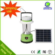 with mobile phone charger portable solar lamp