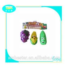 Nova chegada! Pelúcia legumes e frutas brinquedos 2014
