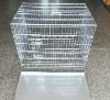 stainless steel dog cage