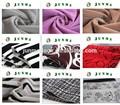 tongxiang fabricant grosse fleur rideau en tissu textile de la chine