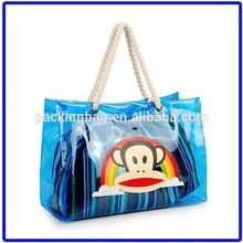 Eco-friendly no breaking strong plastic PVC shopping bag