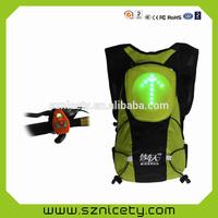 Popular led backpack and school bag with LED lights for children