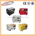 3KVA -10KVA silencieux générateurs de type électricité pour les maisons et bureaux