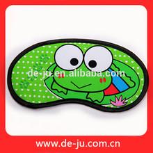 Promotion Children Boys Girls Lovely Frog Printed Cheap Cute Animal Eye Mask