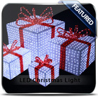 acrylic led christmas gifts and crafts for christmas decoration