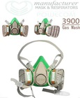 gas mask, Twin filter box gas manufacturer POWECOM