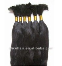 Fashion virgin chinese remy human hair bulk