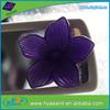nice design new pvc flower funny car air freshener