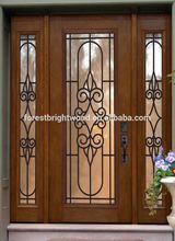 Villa Entry Door Glass Inserts, Villa Entry Door with Side Light