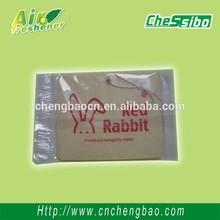 Carton rabbit shaped paper flavor for car