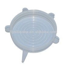 5pcs/set Silicone Lid Cover Keep Food Fresh