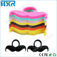 customized service mechanical mod vapor band silicon material vape band fake mustache