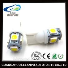 white 12v 5SMD 5050 T10 Car Interior lamp led