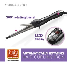 2015 New product.Hair curling iron.AUTOMATIC LCD HAIR CURLER