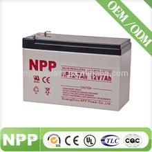12V 7AH Battery Manufacturer Battery Charger UPS Battery