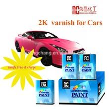 2K varnish for car