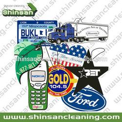 Custom scent paper car air freshener with custom logo printing