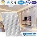 Hg-07b 3d neues design dekorative material wandpaneel wand formen 3d aluminium-verbundplatte