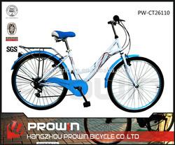 """2015 26""""7 speed CHEAP cruiser bike city bikes for women(PW-CT26100)"""
