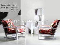 Divany furniture leather sofa sale johor bahru D-41