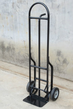 china industrial steel two wheel tool trolley hand cart