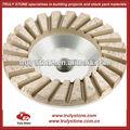 Piedra abrasiva: turbo rueda de copa