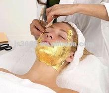 Most popular facial gold foil sheet for women beauty