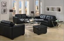 modern leather living room sofa set