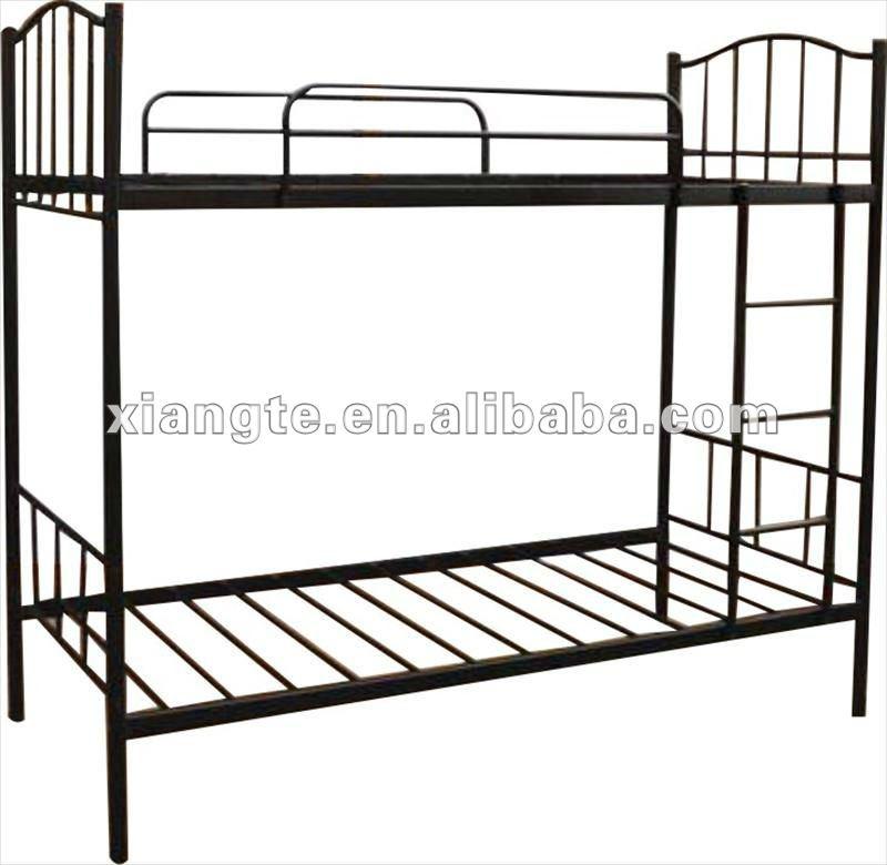 Simple Modern Metal Beds : ... Bed Series > modern furniture metal double bunk beds / simple design