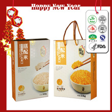 Health Nutritional Grains Food Matched Rice Instant Food