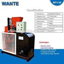 WT1-25 eco brava price clay brick making machine