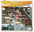 Pp máquina de reciclagem de resíduos linha de lavagem máquina de lavar roupa linha de montagem