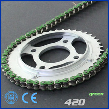 Motorcycle Chain 420 green