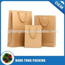 2015 China Guangzhou custom paper bag /kraft paper bag /paper bag Printing