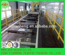 anti scratch folding box high glossy clear APET plastic film