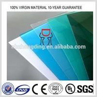 4x8 sheet plastic polycarbonate sheet/4'x8' polycarbonate sheet/plastic pc sheet