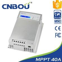 24v/12v 40a mppt controlador de carga solar