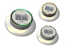 Round Magnetic EZ Set Digital Timer, Just Turn Knob /rotating timer/digital rotating timer