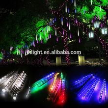 double sides outdoor led christmas meteor shower light,led meteor rain light