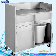 Kitchen Stainless Steel Mobile Storage Cabinet/ Kitchen Equipment