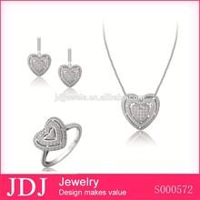 Rhinestone Latest Design Diamond Earring Studs, Women Fashion Wholesale Costume Jewellery Sterling Silver Earring