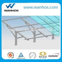 300kw PV Panel solar ground mounting
