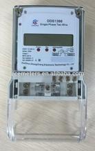 Single phase three wire energy meter/ single phase conventional energy meter/static energy meter