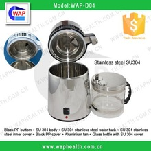 Trade Assurance Dental supply portable home use 4L stainless steel automatic water distiller