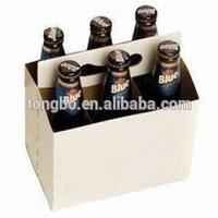 Luxury White Custom Cardboard Leather Wine Carrier Box