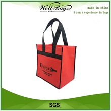 Eco friendly PP non woven six bottles wine bag, promotional tote bags