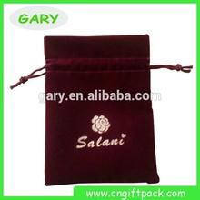 Fashionable Mini Velvet Drawstring Bag
