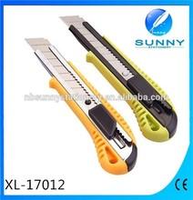 High quality 18mm cutter knife top sale, paper cutter knife blade