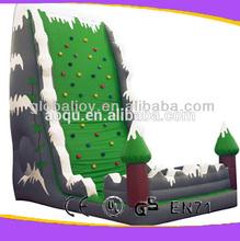 inflatable rock climbing wall/inflatable climbing wall