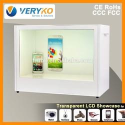 """22"""" transparent plastic computer case"""